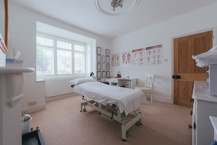 portsmouth and hampshire massage therapy treatment room